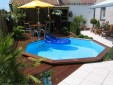 Octoo/Oblong Wooden Pool 1