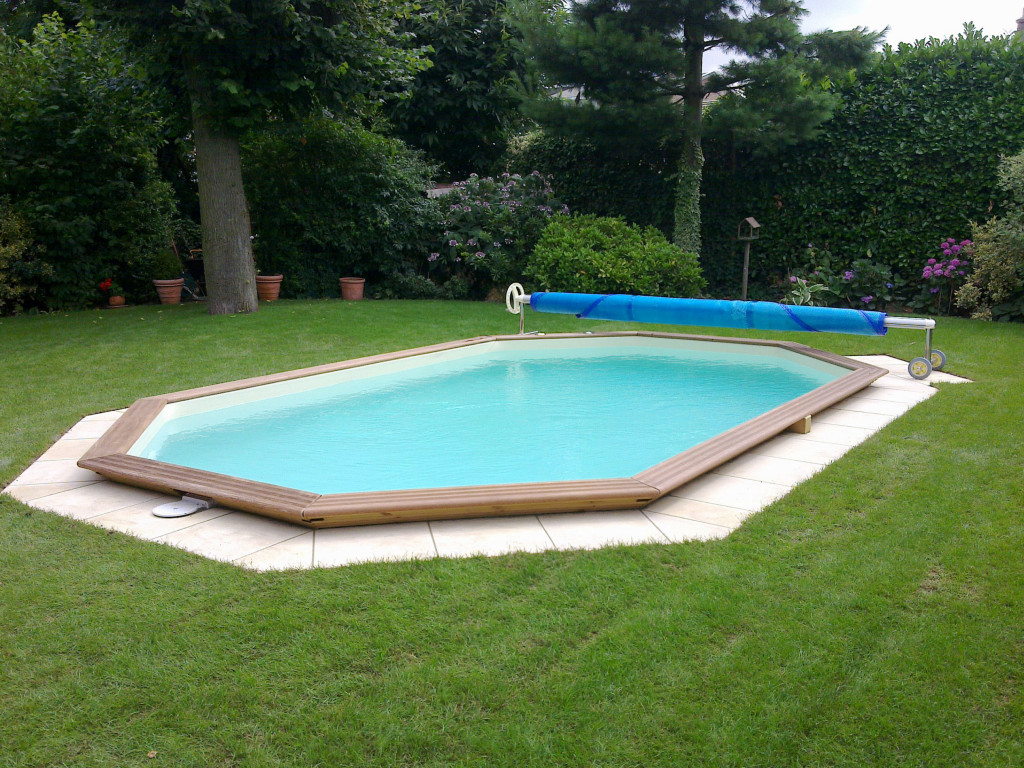 Wooden pool octoo scp for Busatta piscine